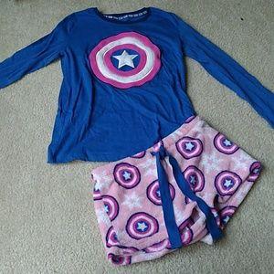 Super Comfy Juniors Marvel Pajamas!